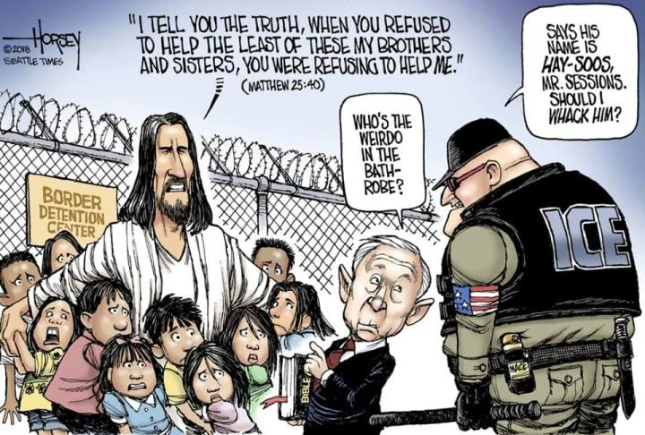 Jesus and Sessions