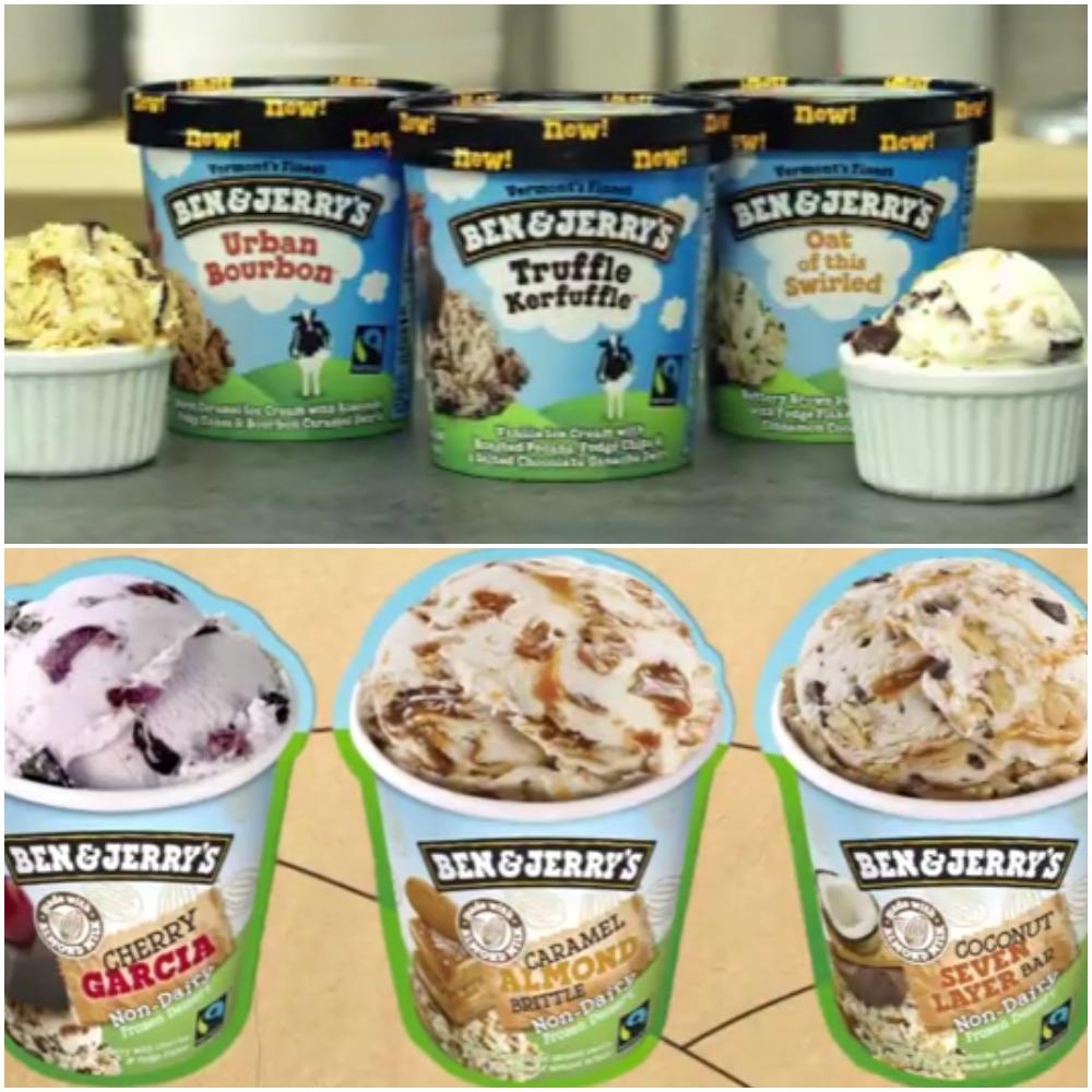 B&J ice cream