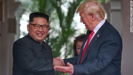 Trump & Kim Jung-un
