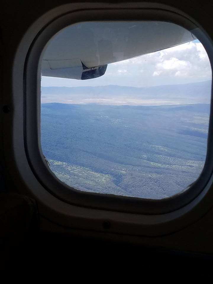 2-13 from airplane-Ngorongoro Crater