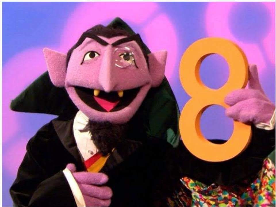 The Number 8