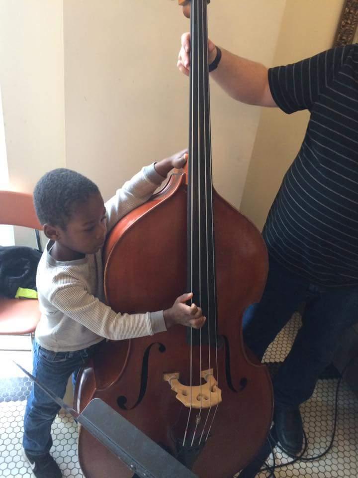 Ben plays cello