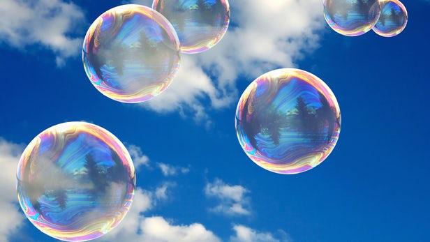 bubbles in sky