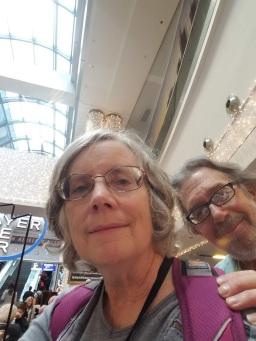 Selfie at Frankfurt airport