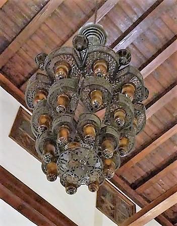 chandelier - Al-Azhar Mosque