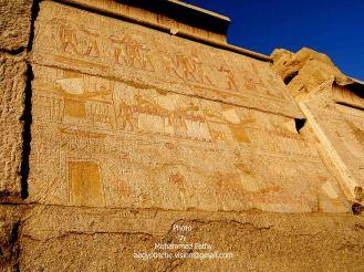 Karnak (264) - colorful reliefs