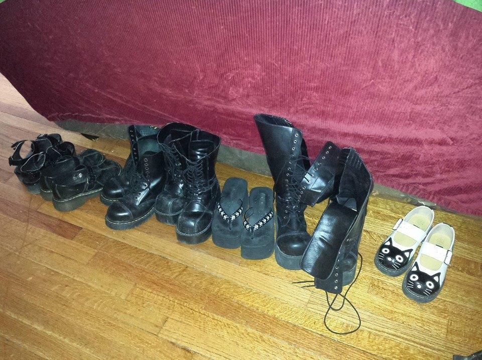 Tam's shoes