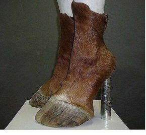 hjigh heel horseshoes