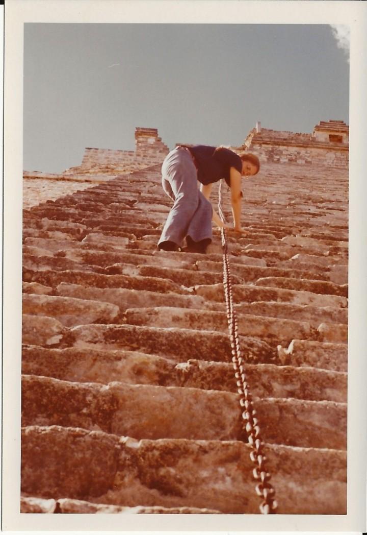 Uxmal, Mex-Jan 1973