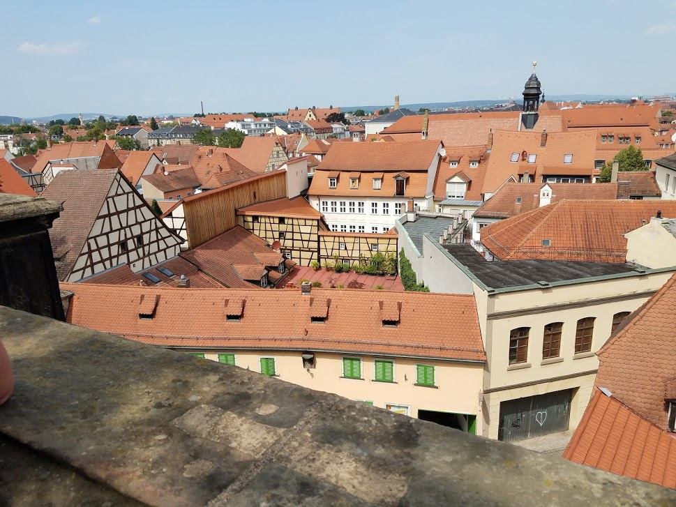 20190701_152111 Bamberg rooftops from the Rose Garden