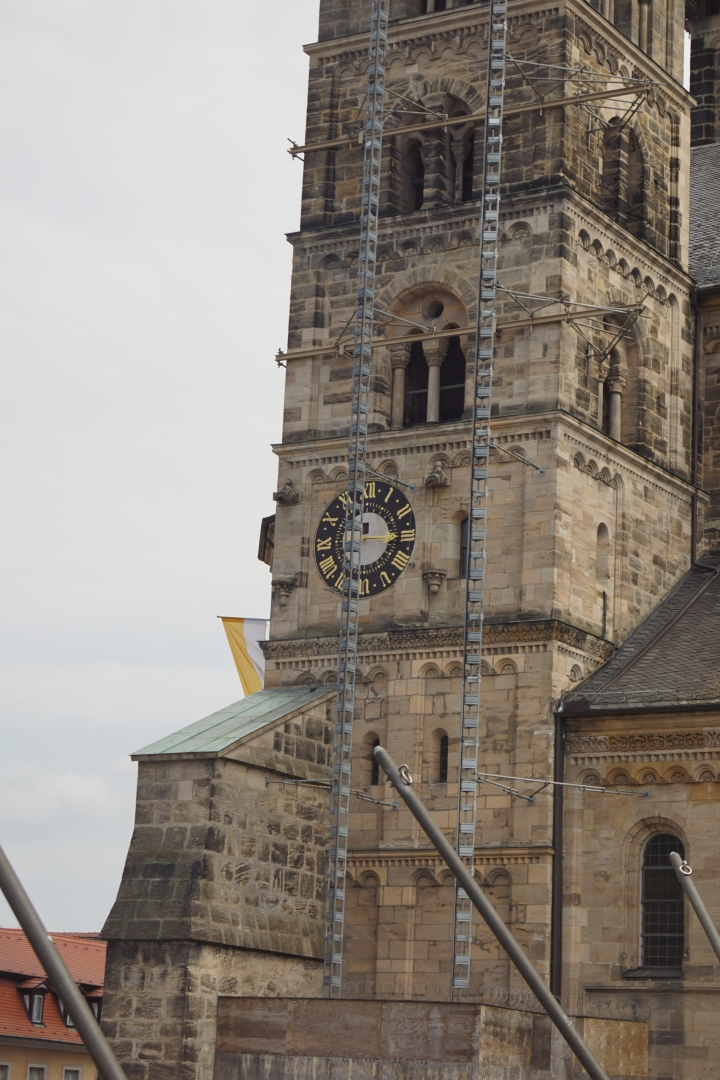 DSC01469 Bamberg Cathedral tower