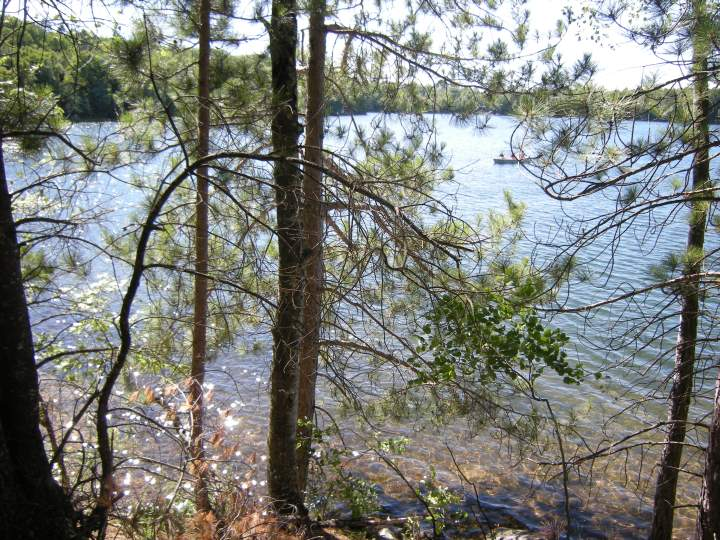 South Blue Lake (as seen from Bearskin Trail)