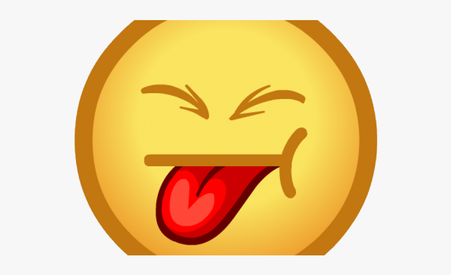 emoji with tongue out