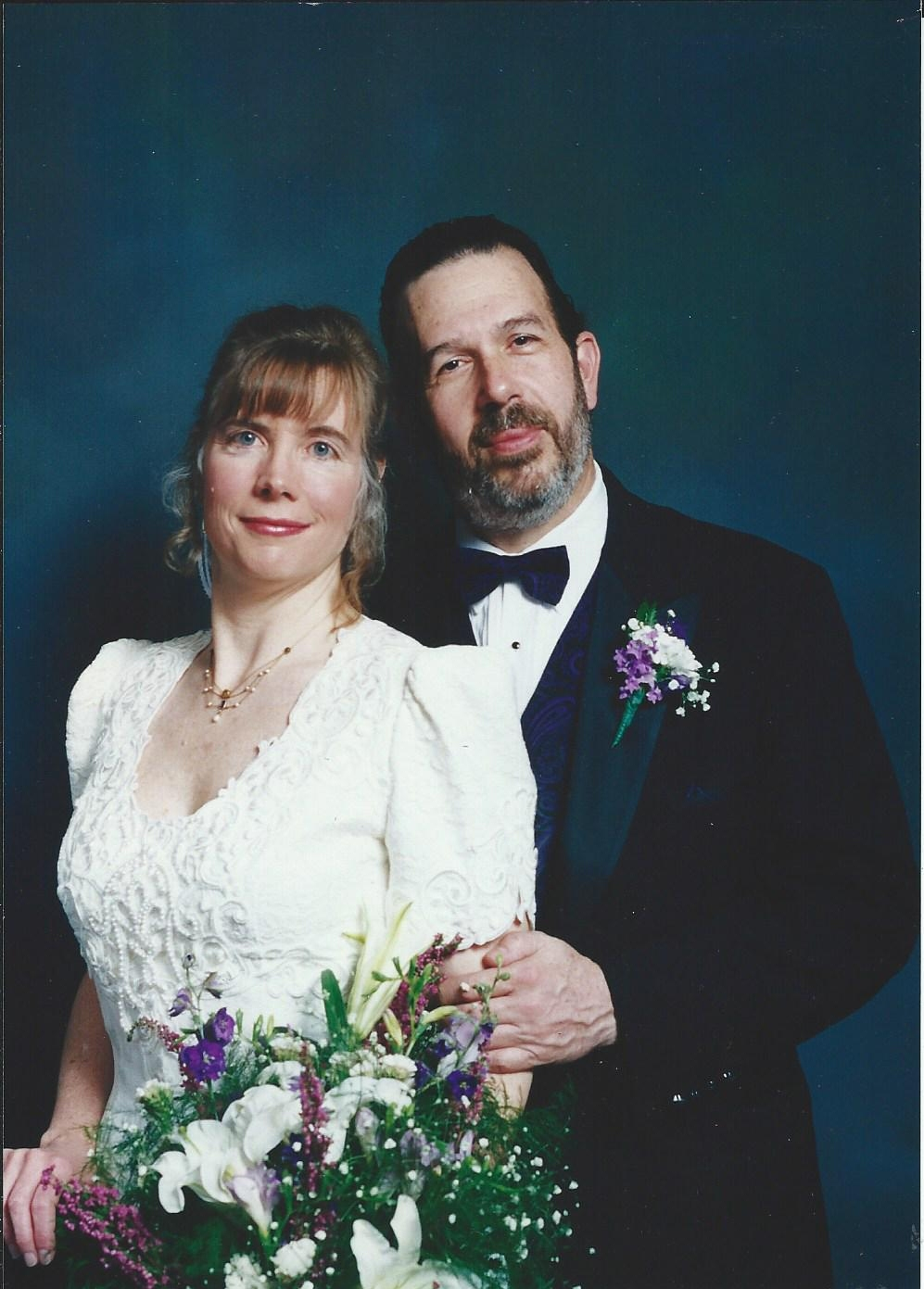 Katy & Dale wedding picture - 11-19-95