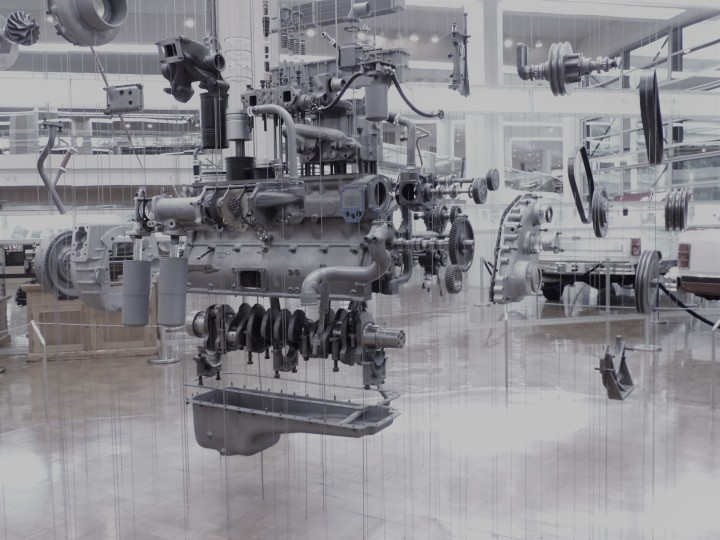 """Exploding Engine"" by Rudeolph de Harak (1984)"