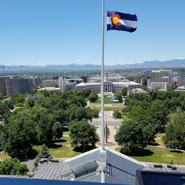 20180601_125410 View from top of Denver capitol