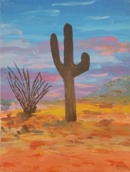 20191119_135300 Arizona Desert - acrylics