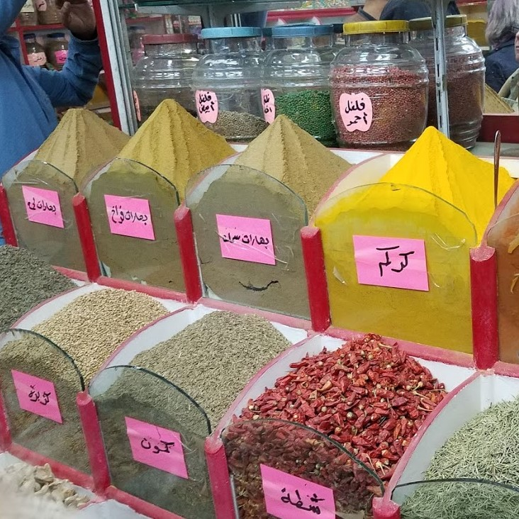 Spices in Aswan's market