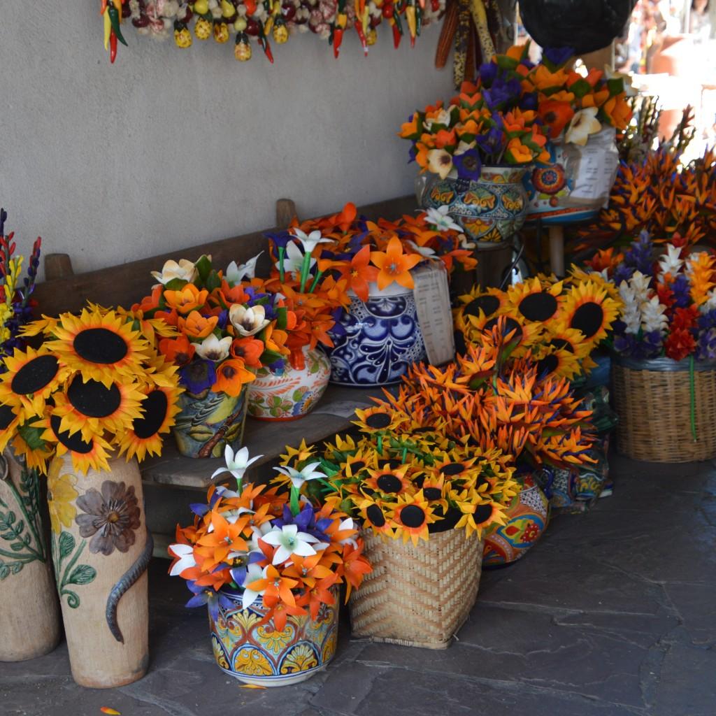 Flower market, Santa Fe