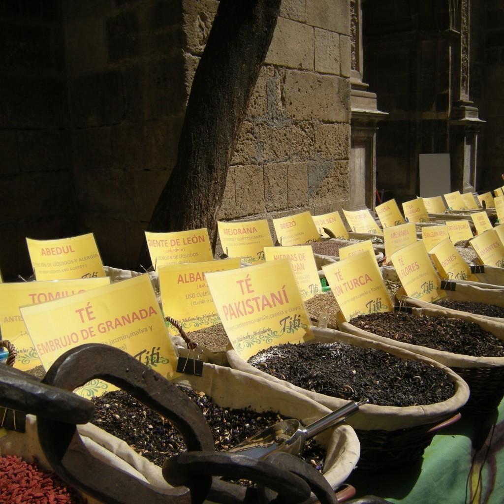 Spice market, Granada, Spain